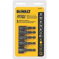 Black & Decker/DWLT 5Pc Impact Nutdriver Set DW2235IR Unit: EACH