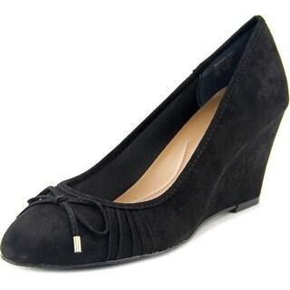 Style & Co Florah Women Open Toe Synthetic Black Wedge Heel