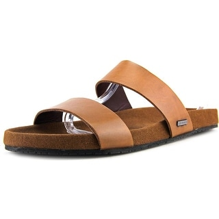 Ted Baker Magnuss Open Toe Leather Slides Sandal