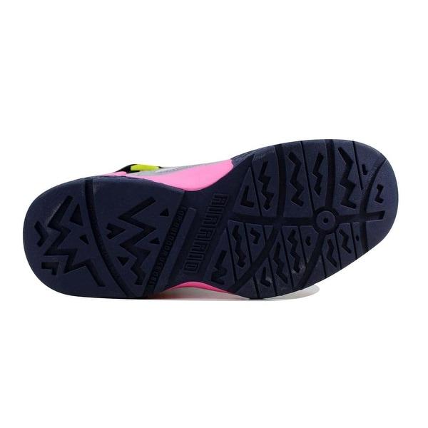 Nike Air Raid WhitePink Glow Wolf Grey Midnight Navy Grade School 644882 101 Size 5 Medium
