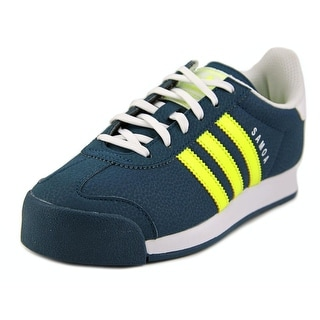 Adidas Samoa J Round Toe Synthetic Sneakers