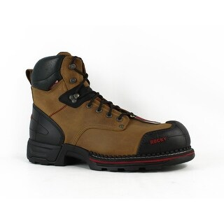 Rocky Mens Rkk021011.5W CrazyHorse Work & Safety Boots Size 11.5 (E, W)