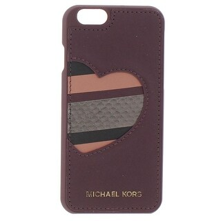 Michael Kors Cell Phone Case Leather Heart