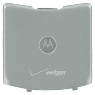 OEM Motorola Razr V3c Battery Door - Silver