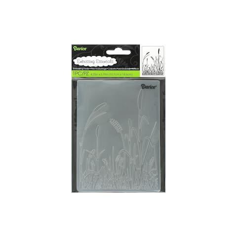 1218-75 darice emboss folder grass