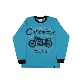 Tween Boys Long Sleeve Shirt Graphic Tee Cotton Pulla Bulla Sizes 10-16 Years