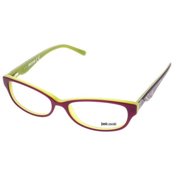 Just Cavalli JC0452/V 083 Purple Rectangle Optical Frames - 53-15-140