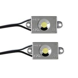Pilot Automotive Water Resistant Flat POD Lights (Set of 2)