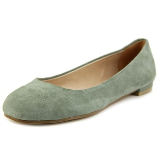 Nina Michelle Women Round Toe Suede Flats