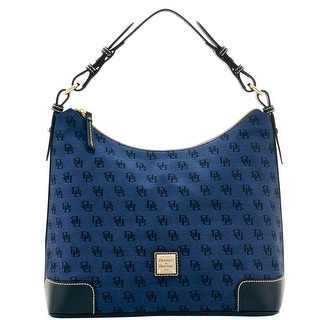Dooney & Bourke Madison Signature Large Erica (Introduced by Dooney & Bourke at $198 in Jul 2016) - Navy