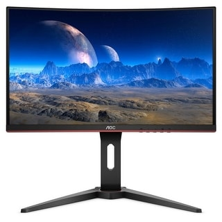 "Link to AOC M24G1C 1080p 24"" Curved LED-backlit FreeSync Monitor,Black(Certified Refurbished) Similar Items in Monitors"