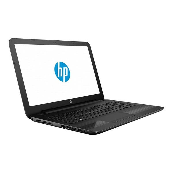 "Refurbished - HP 15-ba018wm 15.6"" Laptop AMD Quad-Core E2-7110 1.8 GHz 4GB 500GB HDD W10"