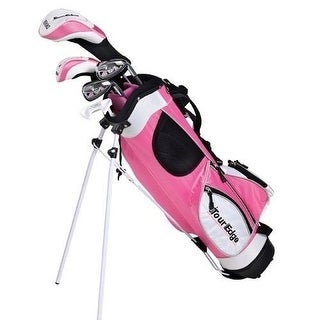 Tour Edge HT Max-J Junior Girl RH 4x1 Pink Golf Set Age 5-8