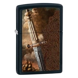 Zippo zippo28305 Sword of War Black Matte Lighter