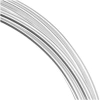 Beadsmith Silver Plated Copper German Bead Wire Craft Wire 18 Gauge/1.mm (4 Meters / 13.1 Feet)