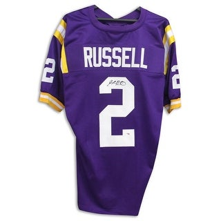 JaMarcus Russell LSU Tigers Autographed Purple Jersey