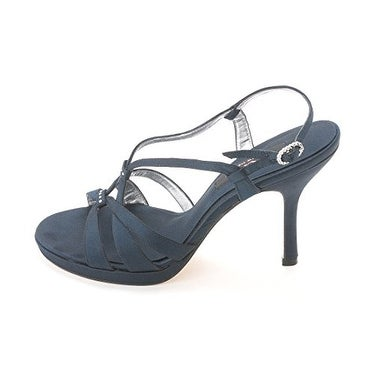 Nina Womens GINNIE Satin Open Toe Formal - 7.5