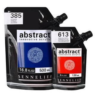 Sennelier - Abstract Acrylic - High Gloss - Ultra Blue