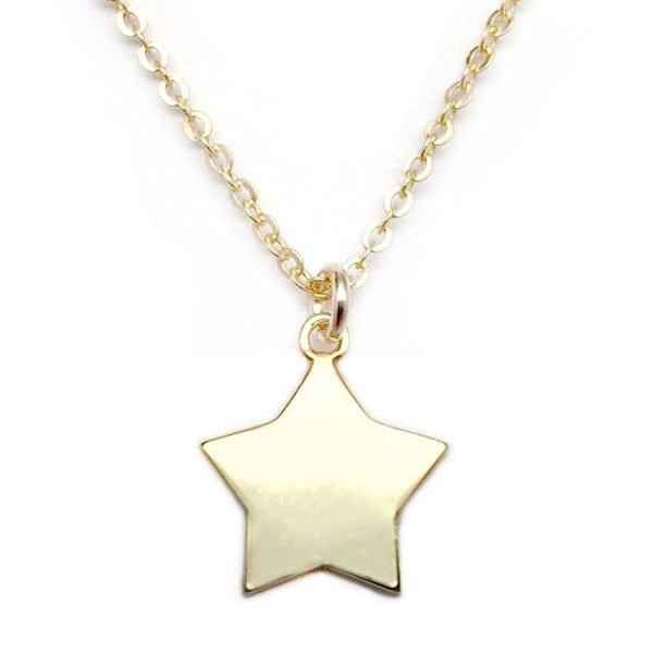 "Julieta Jewelry Star Gold Charm 16"" Necklace"