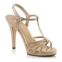 Fabulicious Women's Flair 420 Nude Patent/Black