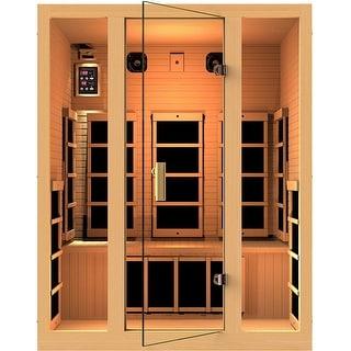 JNH Lifestyles Joyous 3-person Zero-EMF Far Infrared Sauna / Model MG317HB