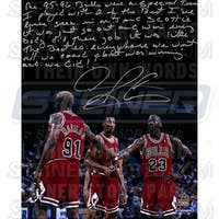 Dennis Rodman Bulls 16x20 Story Photo about 9596 Team