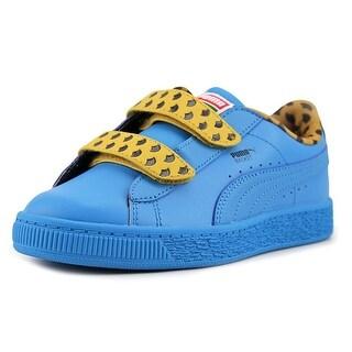 Puma Sesame Str Basket CMMono V PS Leather Fashion Sneakers