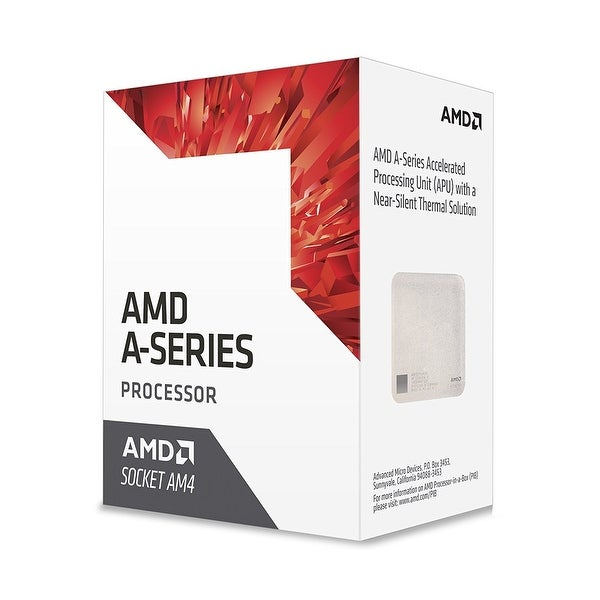 Amd Cpu Ad9700ahabbox Bristol Ridge Am4 A10 9700E Apu 35 Watts