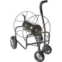 Lewis Lifetime Tool 4 Wheel Metal Hose Reel HT-4EZTURN Unit: EACH