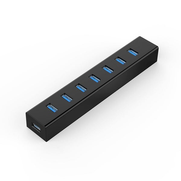 Authorized by Orico USB3.0 7-Port HUB High Speed Data Transfer For PC Laptop