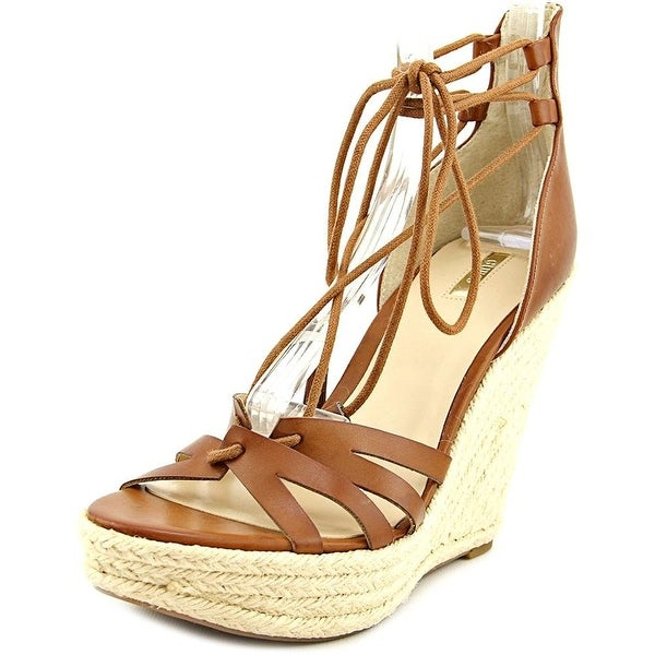 f1c2e1a2ba7 Shop GUESS Womens Ollina Wedge Open Toe Casual Platform Sandals US ...