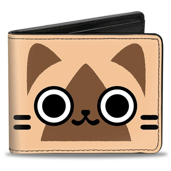 Airou Face Close Up + Logo Browns Bi Fold Wallet - One Size Fits most
