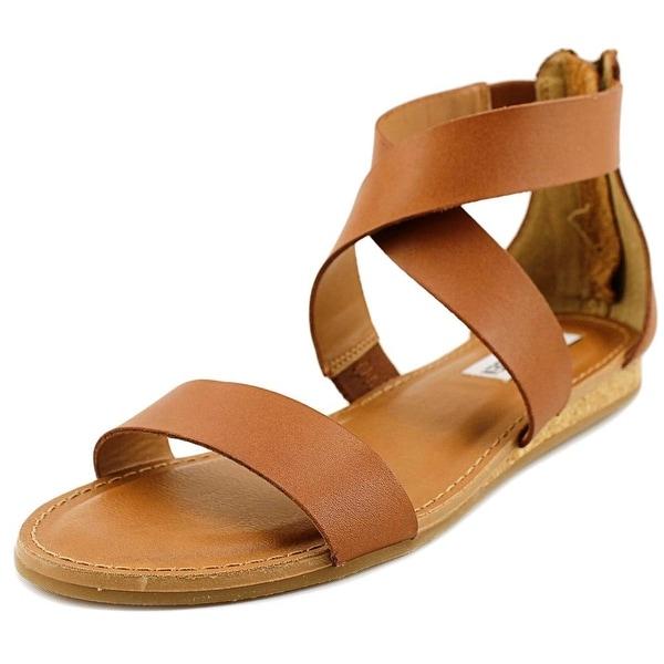 0d4fde4d9e2c Shop Steve Madden Halley Women Open Toe Leather Tan Gladiator Sandal ...