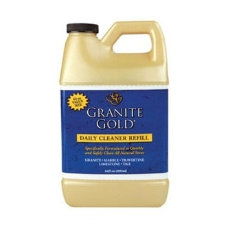 Granite Gold CG0040 Daily Cleaner Refill, Fresh Citrus Scent, 64 Oz