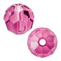 Swarovski Elements Crystal, 5000 Round Beads 8mm, 8 Pieces, Rose