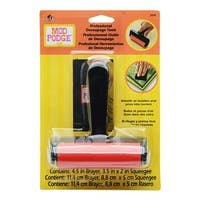 Mod Podge Professional Decoupage Tools, Brayer and Squeegee, 1 Pack