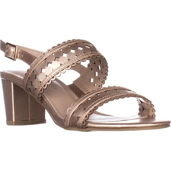 KS35 Dabby Sling-Back Dress Sandals, Rose