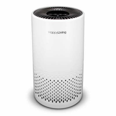 Happy Living True HEPA 4-Stage Filtration Air Purifier