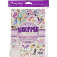 For The Girls; 20 Designs/2 Each - Hunkydory Whopper Topper A5 Paper Pad 40/Pkg