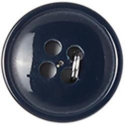 "Navy 4-Hole 5/8"" 4/Pkg - Slimline Buttons Series 1"