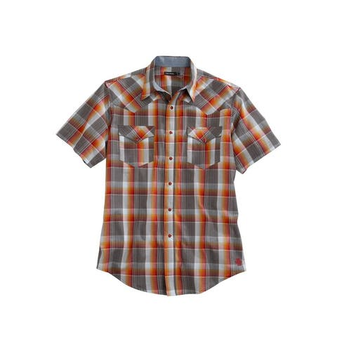Tin Haul Western Shirt Mens S/S Multi-Color