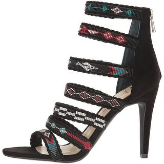 Jessica Simpson Womens Erienne Pointed Toe Casual Strappy Sandals