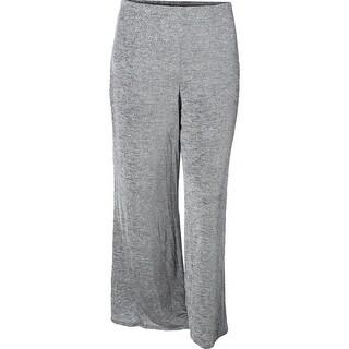 MSK Womens Straight Leg Pants Metallic Stretch (4 options available)