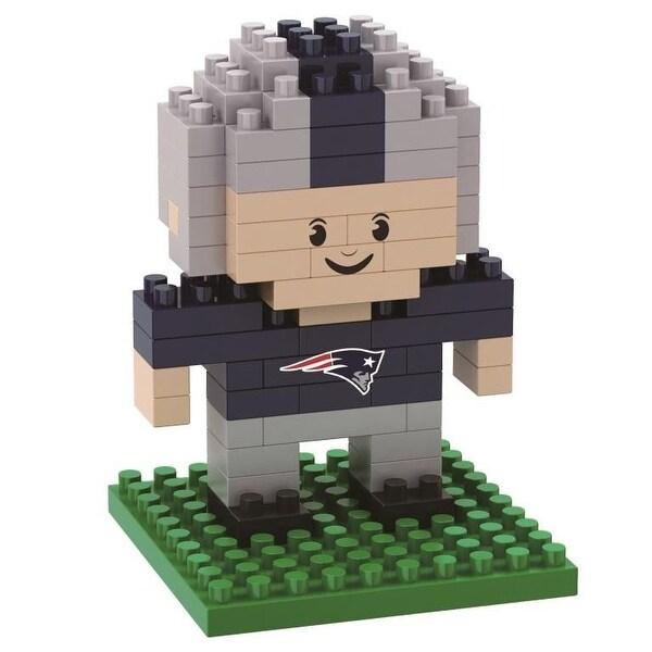 New England Patriots 3D NFL BRXLZ Bricks Puzzle Player