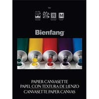 """Bienfang Canvas Paper Pad 9""""X12""""-10 Sheets"""