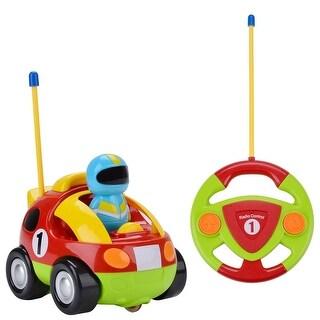 Cartoon RC Race Car Radio Remote Control Toys Present for Kids