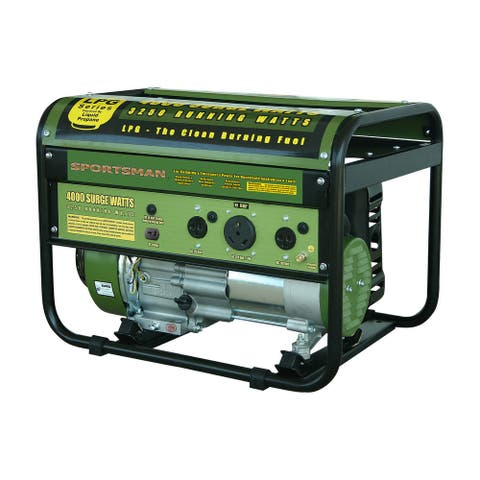 Offex Propane 4000 Watt CARB Approved Portable Generator - Green