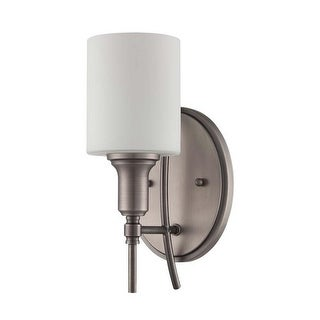 Jeremiah Lighting 37261 Meridian 1 Light Wall Sconce - 5.5 Inches Wide