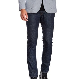 Bonobos NEW Blue Mens Size 31X32 Slim Straight Leg Flatiron Jeans