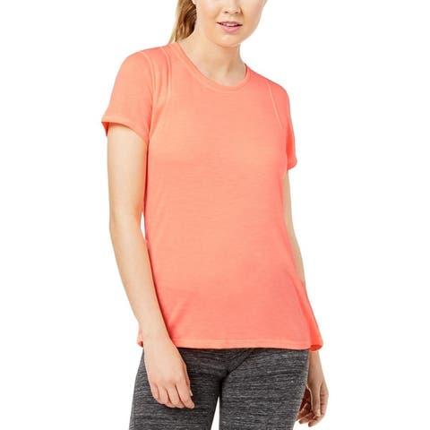 Calvin Klein Performance Womens T-Shirt Yoga Fitness